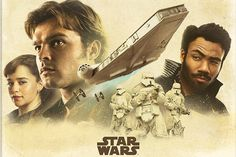 With the new trailer for Solo: A Star Wars Story set to arrive later, a massive batch of promo posters have surfaced offering a look at all the movie's different characters and its mysterious villain. Alone Movies, Hd Movies, Star Wars Poster, Star Wars Art, Star Trek, Meninas Star Wars, Saga, Starwars, Netflix