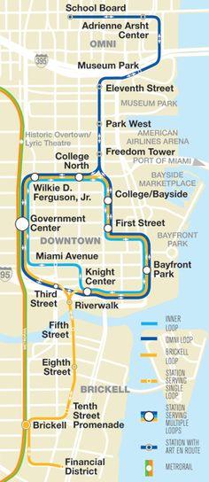 Metrorail Station MiamiDade Transit FLORIDA Pinterest Miami