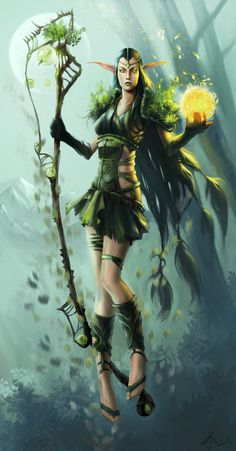 Elf of the Wild by ~MeWannaLearn on deviantART