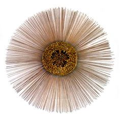 "42"" Colossal Sunburst Wall Sculpture - Curtis Jere"