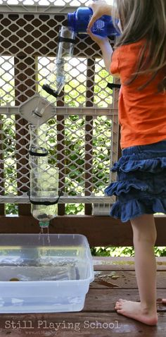 Portable Water Wall for Kids *perfect summer activity