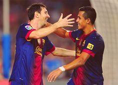 Messi y Alexis