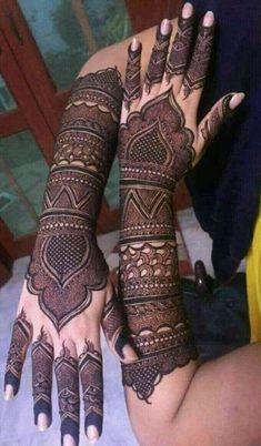 Ideas for bridal mehendi designs passion - MyStyles Kashee's Mehndi Designs, Arabic Bridal Mehndi Designs, Wedding Henna Designs, Mehndi Design Pictures, Mehndi Images, Rangoli Designs, Tattoo Designs, Kashees Mehndi, Hand Mehndi