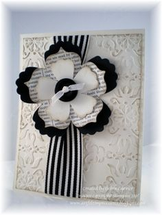 Stampin' Up! Fun Flowers Die  by Deb Currier at ARTfelt Impressions