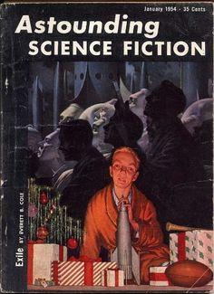 H.R. VAN DONGEN- Jan 1954 - Astounding Science Fiction