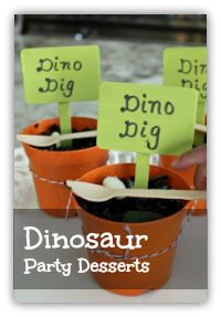 Dinosaur Birthday Party Ideas - Spaceships and Laser Beams