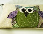 my newest owl. i love the colors!!