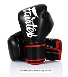 GENUINE FAIRTEX BRAND NEW MICRO FIBER BOXING GLOVES BLACK COLOR #Fairtex