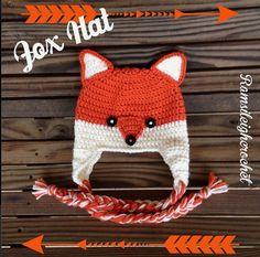 Fox Hat by ramsileigh_crochet on Instagram