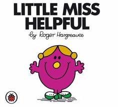 Mr Men Little Miss Helpful Graphics, Pictures, & Images for Myspace Layouts