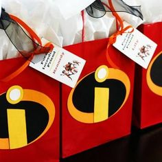The Incredibles Party {Birthday Themes}