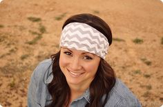 How to Make Jersey Headbands