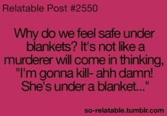 Um.. But what about when it works? I know MANY a killers have turned back due to my awesome cover powers!!