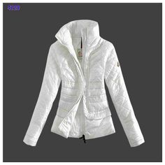 48695ccd4a3e 2014 Moncler Design Women Down Jacket Stand Collar White UK High Quality On  Sale