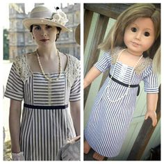Downton Abbey Inspired American Girl Doll Sized by CarrotsandCrow