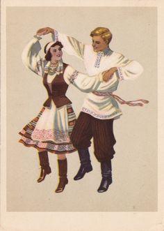 Belarusian dance Kryzhachok