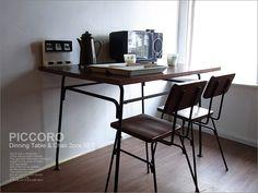 【楽天市場】レトロダイニングテーブルセット(テーブル+椅子4脚タイプ)/シャビーアンティークウッド木製レトロTRUCK FURNITURE好きに!:UNIROYAL
