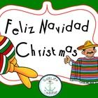 """Feliz Navidad , Christmas in Mexico Unit  Holidays Around The World  Includes:  -Powerpoint (45 slides)   The history, traditions, about, crafts, and more!  - """"My Feliz Navidad Christmas in Mexico book"""" goes along with powerpoint, workbook (28pages)  - Teacher edition workbook is the PowerPoint   - 2 Mexican crafts (paper bag piñata and create a poinsettia)  -3 Activities (Sing Feliz Navidad, Acrostic Poem, Nativity Scene Play)  - 1 Recipe (sweet rice pudding)    This is a fun interactive…"""
