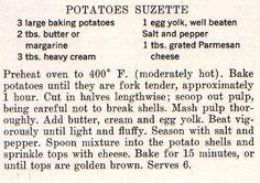 Jackie O's Potatoes Suzette