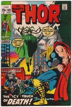 Thor #189 VF+, John Buscema cover art. $28