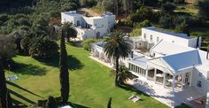 Cascade Manor is an idyllic and luxurious Cape Winelands hideaway. Once a royal homestead, this regal style residence enjoys 23 picturesque hectares amongst Olive orchards and vineyards. The huge terrace overlooking the lawn is a popular place to enjoy delicious cuisine as well as a glass of wine or two from one of the neighbouring estates. With just 15 rooms, Cascade Manor is the perfect getaway for individuals, families or small groups. www.cascademanor.co.za