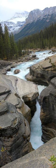 Mistaya Canyon, Banff National Park, Alberta Canada by Alyson Hurt Flickr