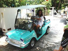 The Fabulous Customized Golf Carts of the Bahamas.