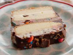 Ice Cream Layer Cake recipe from Ree Drummond via Food Network