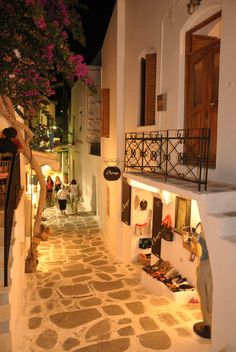 Parikia, Paros, Greece by Roberto Muscatello
