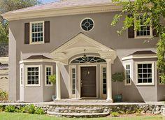 50 ideas exterior stucco paint colors architecture for 2019 Best Exterior Paint, Exterior Paint Colors For House, Paint Colors For Home, Exterior Colors, Exterior Design, Paint Colours, Wall Colors, Exterior Paint Color Combinations, House Paint Color Combination