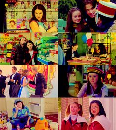 Awesome collage of Gilmore Girls