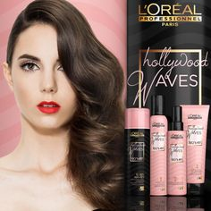 Loreal Professionnel Hollywood Waves Collection for glam, gorgeous curls!