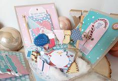Boîte à explosion Noël - Le scrapauroreblog Idee Diy, Scrap, Explosion Box