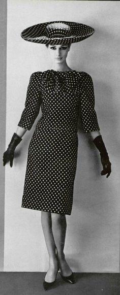 1963 Dior | inspiration for Celeste Mortinné's wardrobe @ the last canvas online novel