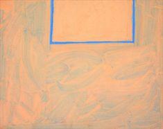 Robert Motherwell, Untitled (Open), 1970. More: https://casualist-tendency.tumblr.com