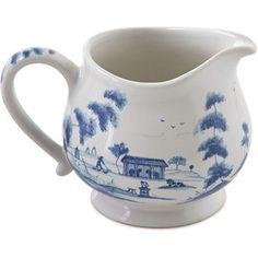 Juliska Country Estate Delft Blue Creamer