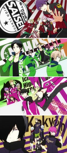Prince of Stride | Rival Teams