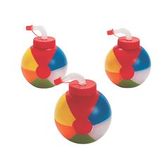 For a taste of the tropics, serve your beach party food and drinks from these Coconut Cups! Use these Hawaiian beach party cups at your next luau or birthday . Beach Ball Birthday, Beach Ball Party, Summer Birthday, First Birthday Parties, Birthday Ideas, 10th Birthday, Kid Parties, Pool Party Birthday, Beach Ball Cake
