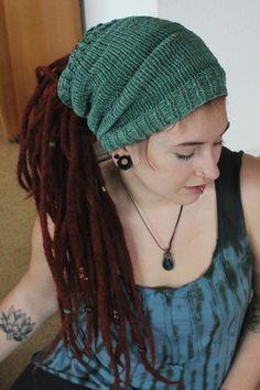 Weiteres - Dreadmütze, Dreadtube, meergrün - ein Designerstück von Caracoletta bei DaWanda