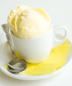 Ginger ice cream (with step by step photos) | can substitute ginger with other flavors (crushed espresso beans, chocolate, vanilla, etc in basic custard recipe) || * use an extra cup of milk and bake for Pots de Creme *