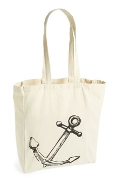 anchor tote bag! Totes taking this to the beach!