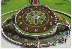 Niagara Falls floral clock, Ontario