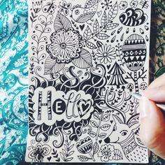 #doodle #sketch #pattern #drawing #illustraion