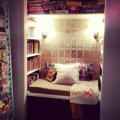 My completed book nook!