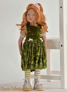 """""""SABIA"""" JUNIOR DOLL BY ZWERGNASE - 2016 COLLECTION - 20""""- BRAND NEW - IN STOCK  