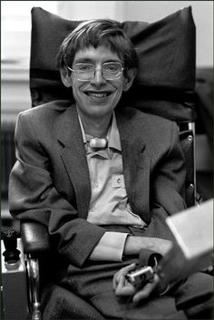 Stephen Hawking, Cambridge, England, photographed by Ian Berry Stephen Hawking Young, Stephen Hawking Quotes, Stephan Hawkings, Ludwig, Carl Sagan, Important People, Physicist, Star Wars, Historical Photos