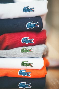 kieljamespatrick:Lacoste for J. Crew. Summer prep heaven like it's 1987