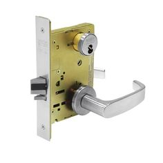 Sargent 60-8205 LNL 26D Office/Entry Mortise Lock LN Rose L Lever LFIC Prep