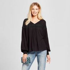 Women's Peasant Blouse - A New Day™