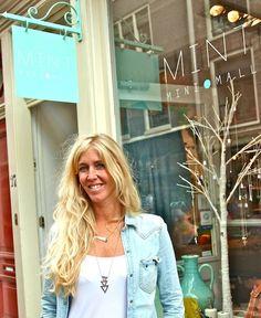 INTERVIEW WITH OWNER SUZANNE: www.vrouwmetstijl.nl/interview-suzanne-de-boer-van-mint-mini-mall-en-beauregard#
